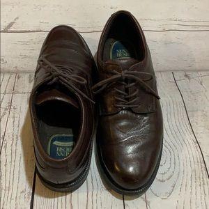 Nunn Bush Men's brown dress shoes